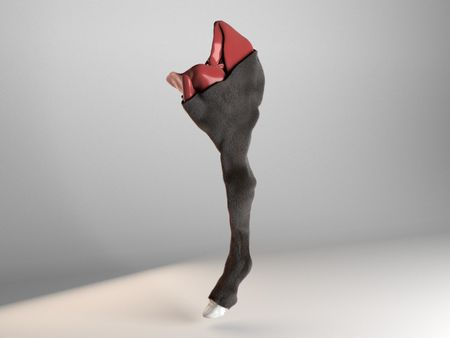 Horse Leg Creature FX Sim