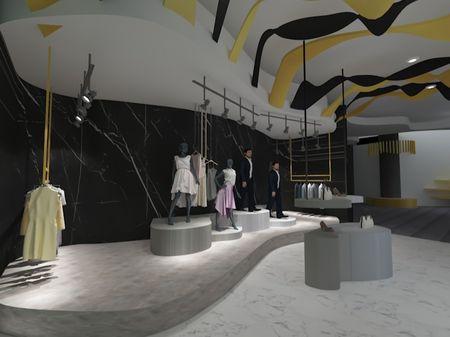 High-end retail design for CELINE