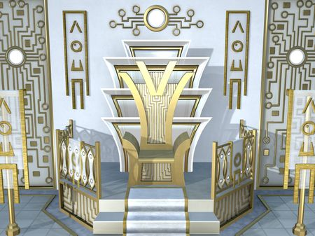 Futuristic Throne