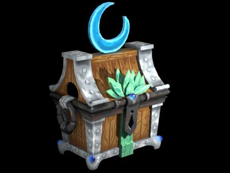 Night Elf Chest 3D Model