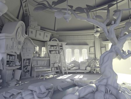 3D Environment and Character Art