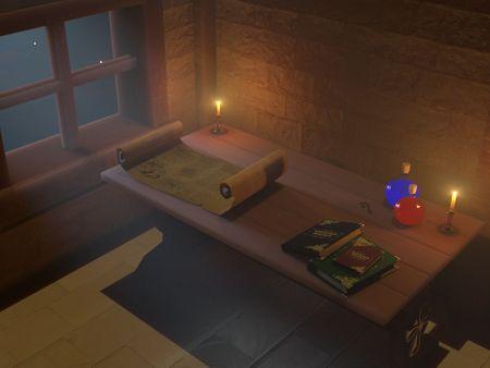 Sorcerer's desk