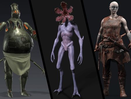 Jesus Barrera-Garcia : Game Production Characters