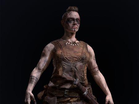 Real-Time Viking Warrior