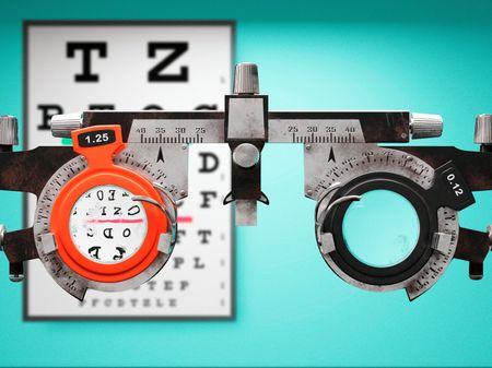Optometry Trial Frame