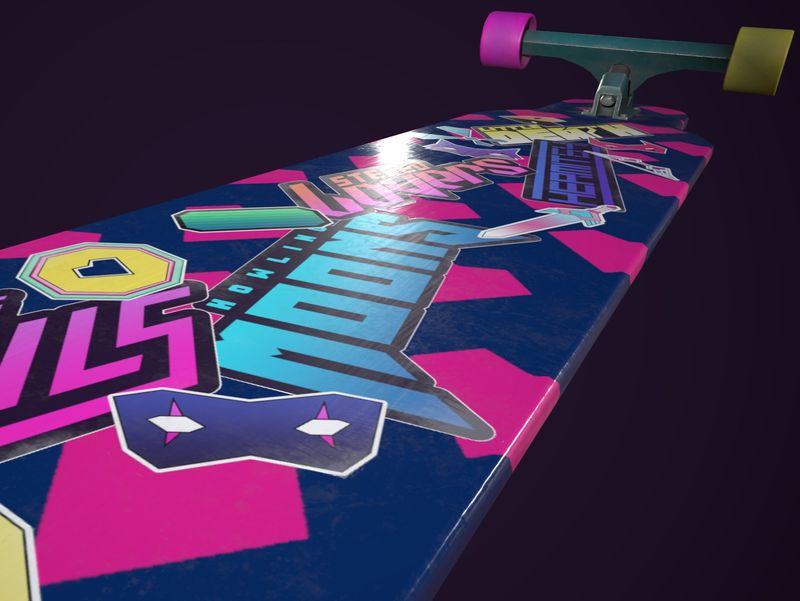 Sayonara Wild Hearts: Longboard