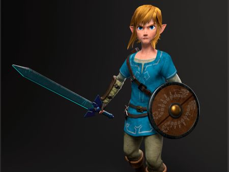 Link from Breath of the Wild