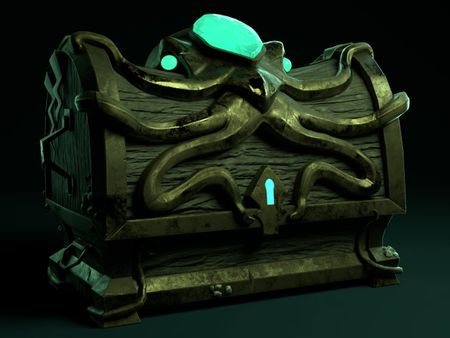 Pirate Chest - Stylized
