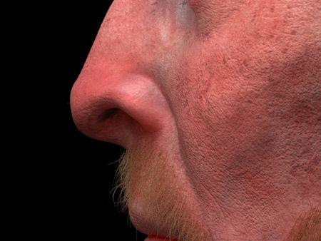 Realistic human skin practice