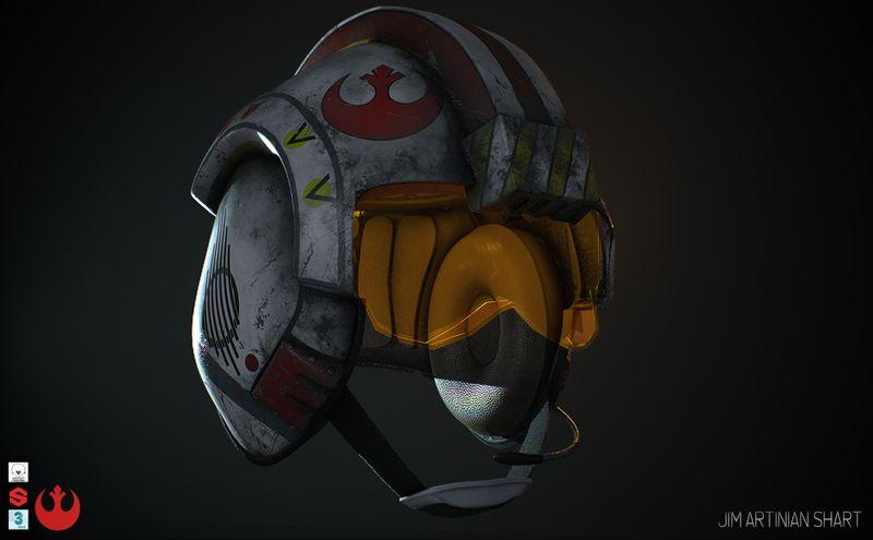 Luke's Skywalker / Rebel Pilot Helmet
