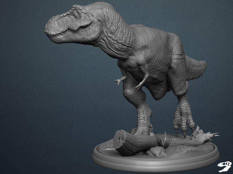 Tyrannosaurus Rex - Ready 3D Print