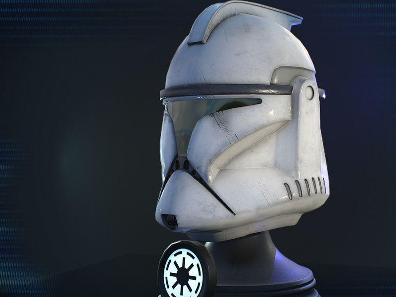 Clone Phase 1 Helmet + Unit Skins
