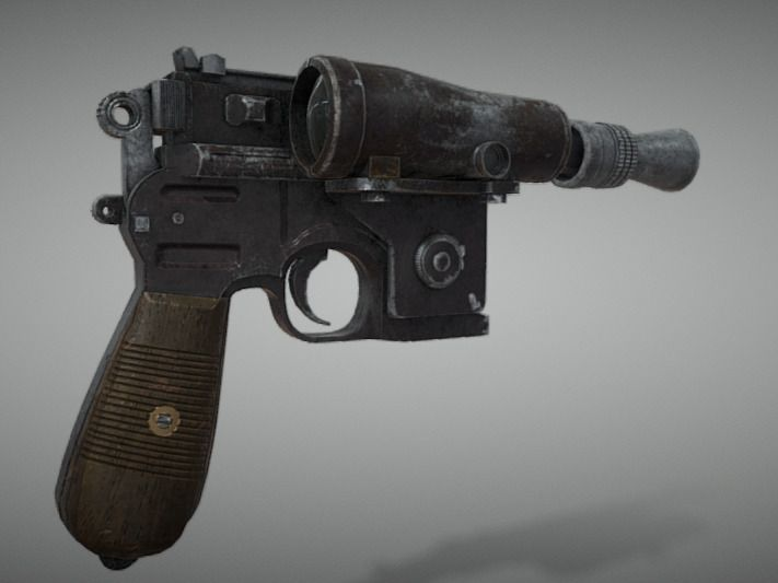 Luke's Blaster Pistole - ESB
