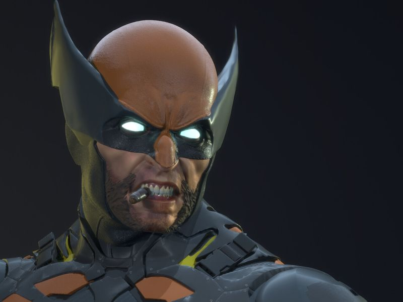 Wolverine Sculpt - Fan Art