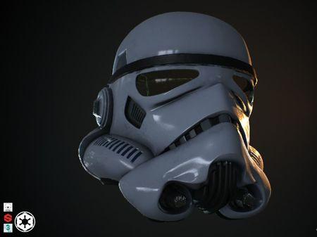 Stormtrooper Helmet - Fan Art