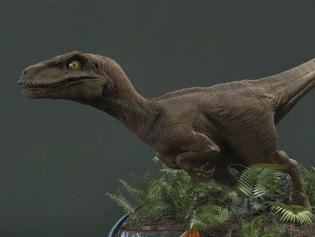 Velociraptor - Jurassic Park Fan Art