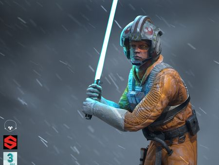 Luke Skywalker Game Ready - FAN ART