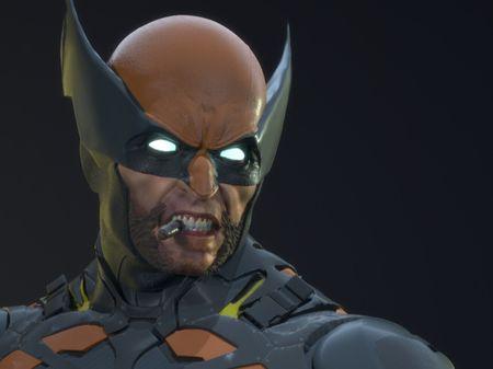 Wolverine Sculpt - Fan Art