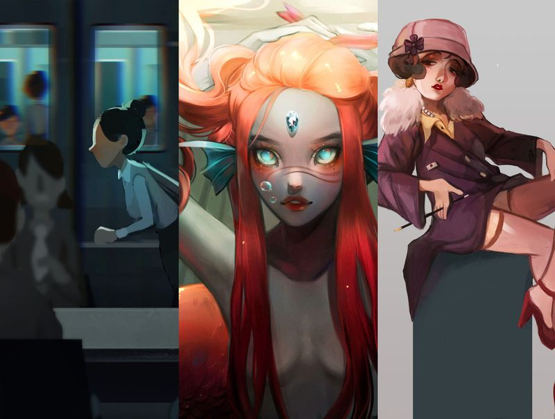 Illustration & Character Design Portfolio 2019