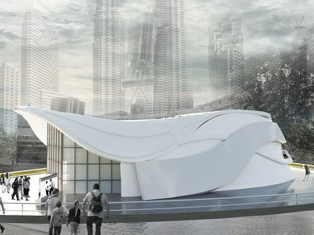 Temporary Exhibition Design for WWF
