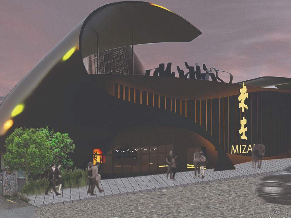 Restaurant Design for Mizai