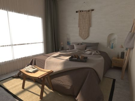 Modern Moroccan Condominium Design - Mykonos Style