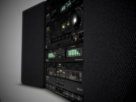 80s Pioneer Stereo