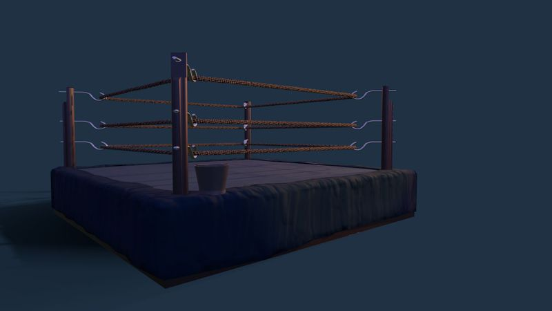 1920's boxing ring