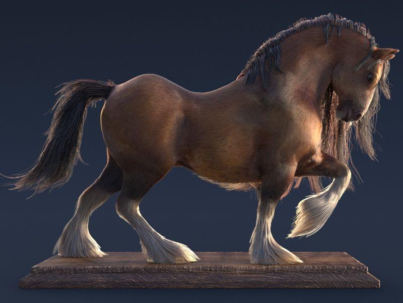 Grooming (The Stallion)