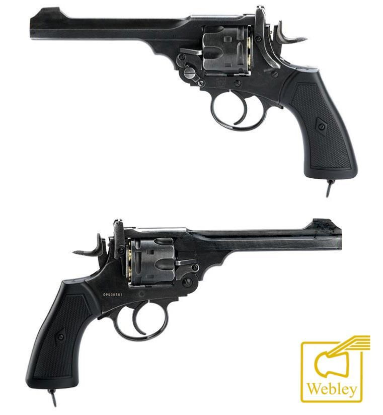 Indiana Jones Gun Pistolet Webley Mkvi3002 Zoom Jocelynbournerie