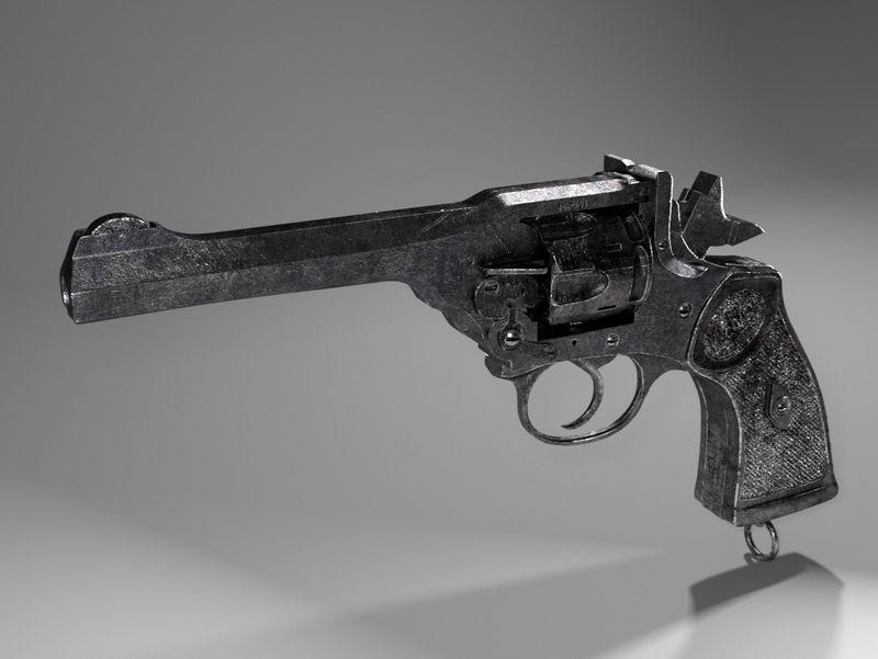 Peaky blinders-webley gun