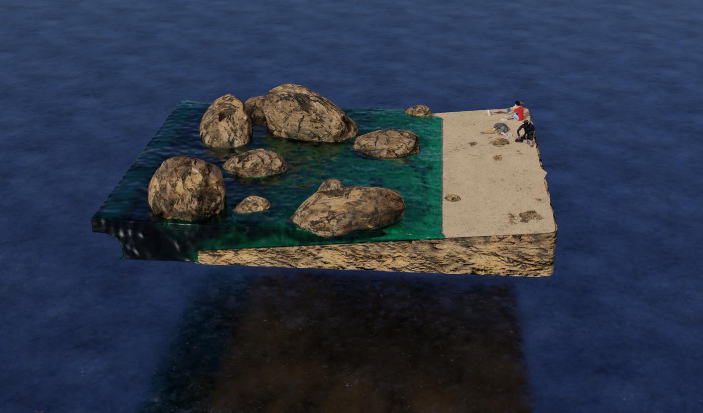 3D animation: Beach Vibes