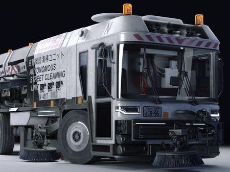 Autonomous Street Sweeper