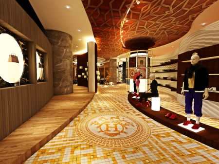 Retail Design for Hermès