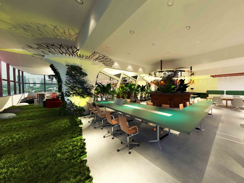 Workspace Design - Mirroring Natures