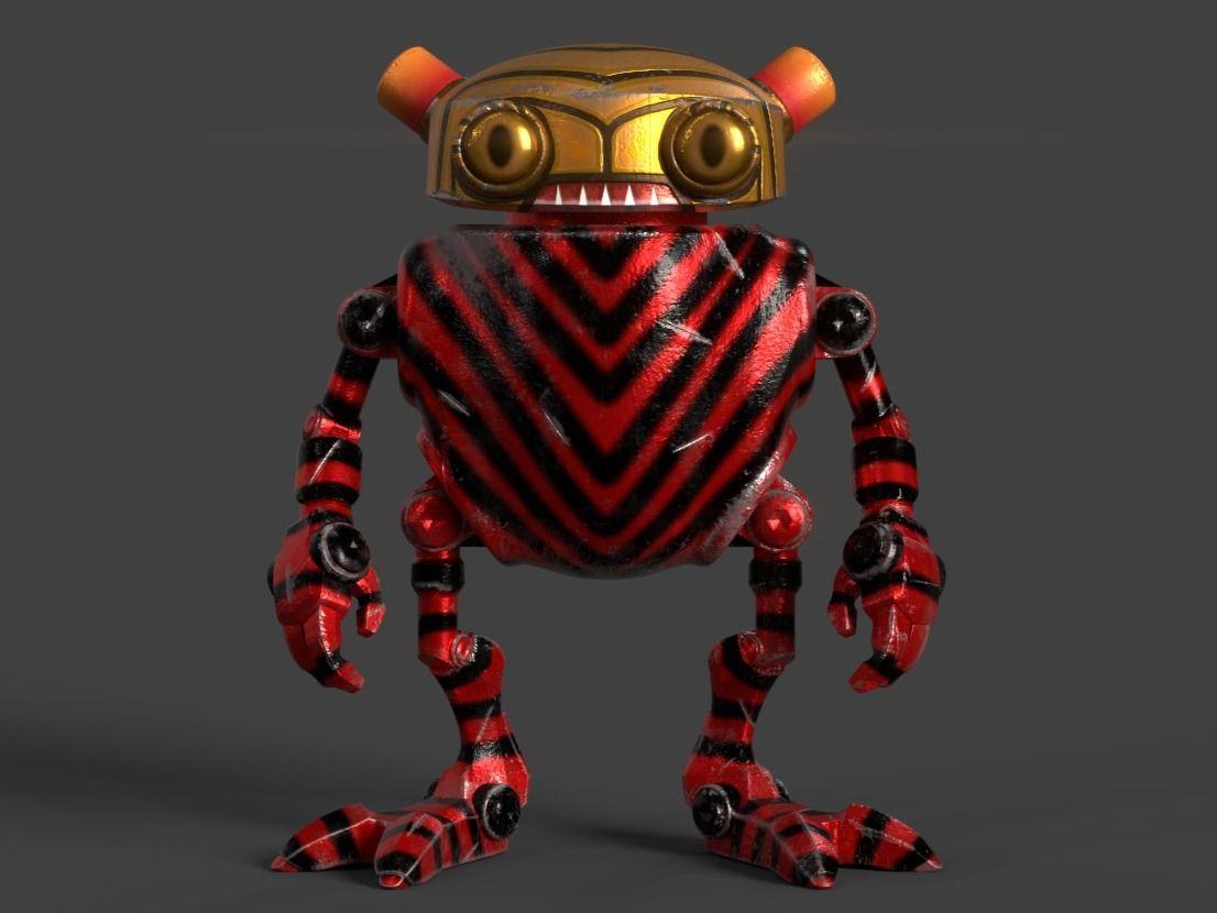 Panamenian Eddie Robot
