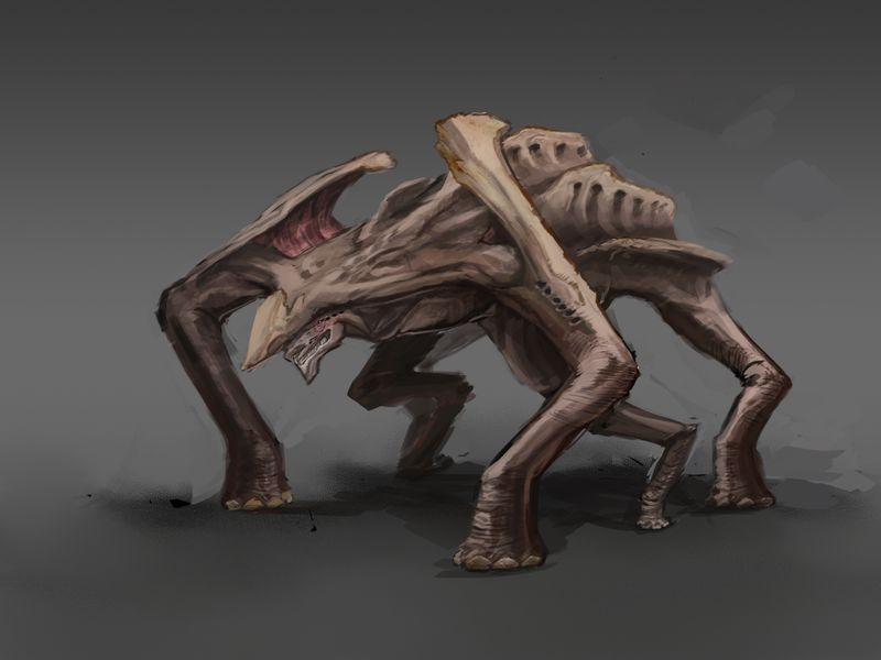 Creature Sketch 1