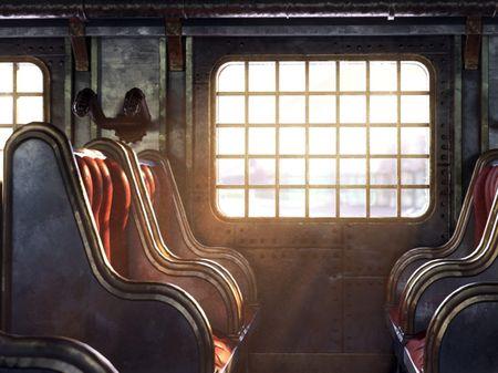 Steampunk train - Personal project
