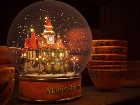 Magic House Diorama