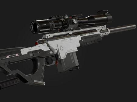 Snow Owl Sniper Rifle - Rookies 2020