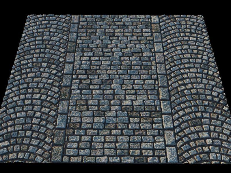 street pavement texture