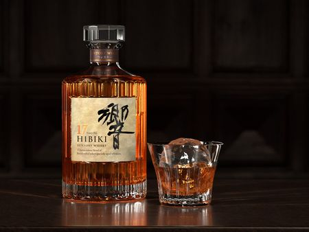 Hibiki Suntory Whisky Packshot