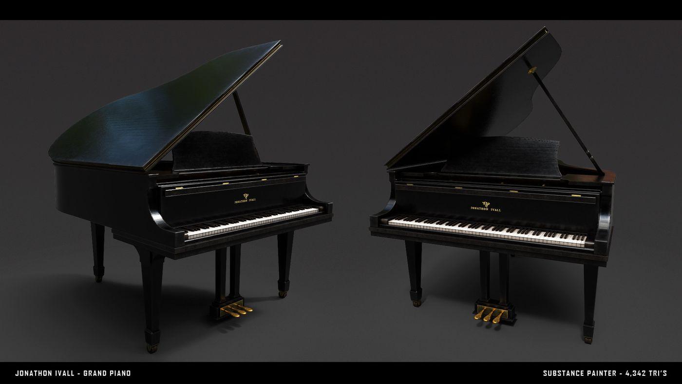 Jonathon Ivall Piano Render 01 Jonathon
