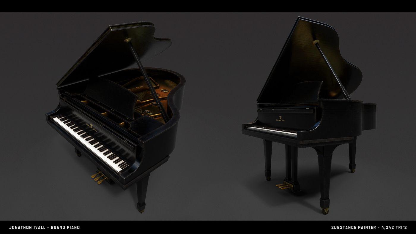 Jonathon Ivall Piano Render 02 Jonathon