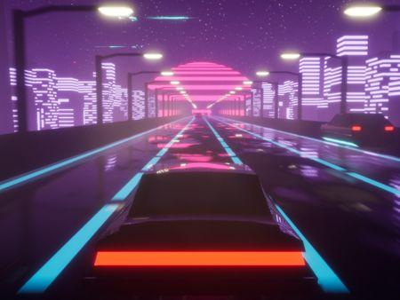 Hyperdrive - Neon Infinite Runner