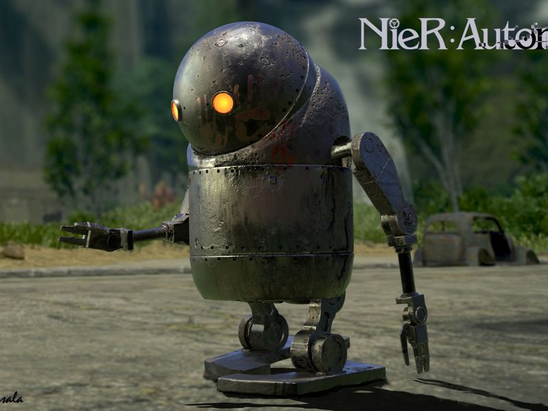 Nier Robot Fan Art