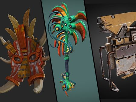 3D Game Assets and Level