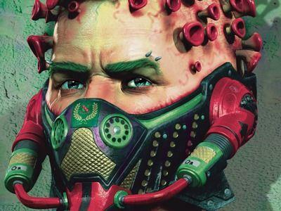 Covid-19 Graffiti Street art awareness