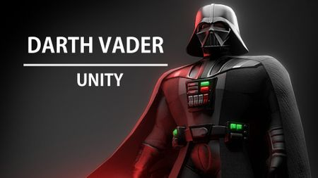 Stylized Darth Vader (real Time UNITY)