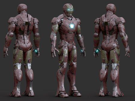 Iron Man // Look-dev